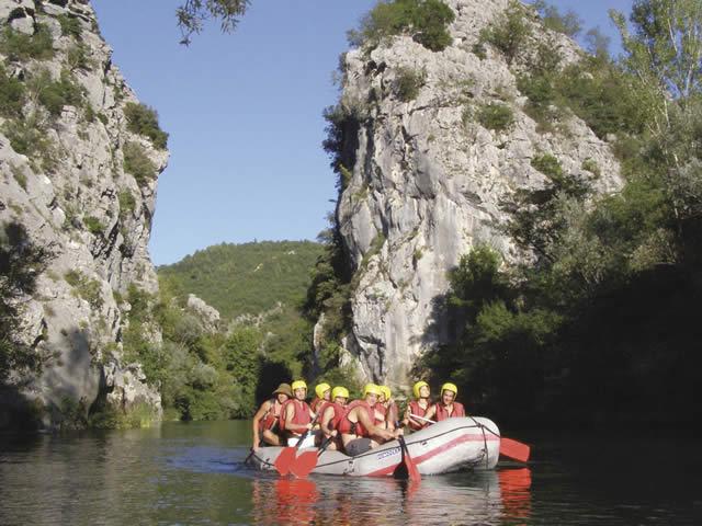 Chorv�tsko Dovolenka Ju�n� Dalm�cia Rafting