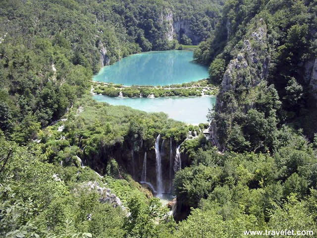 Chorv�tsko Dovolenka Plitvice Fakultat�vny v�let