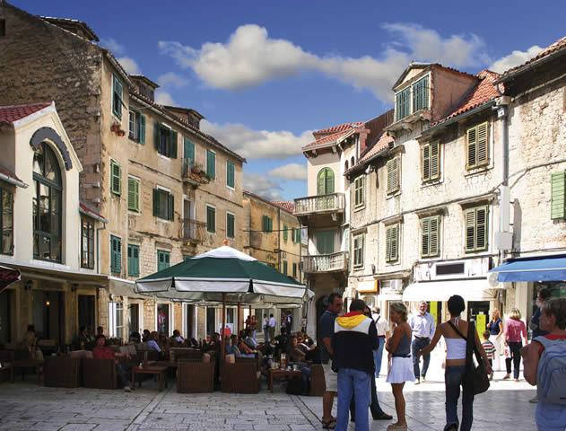 Chorv�tsko Dovolenka Dalm�cia Fakultat�vny v�let Split
