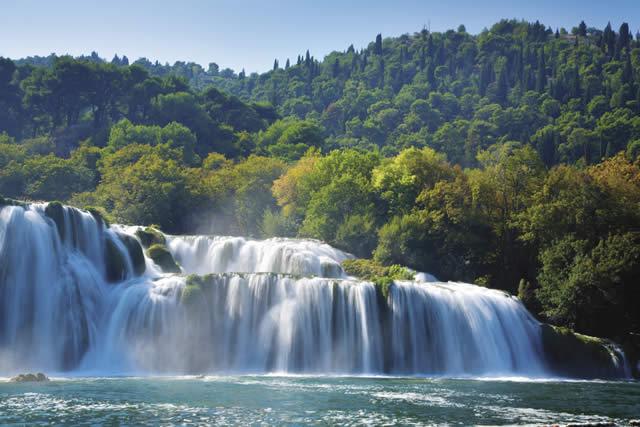 Chorv�tsko Dovolenka Dalm�cia N�rodn� park Krka